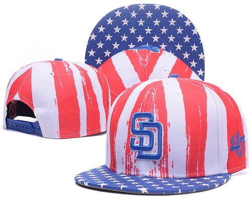 MLB San Diego Padres Stitched Snapback Hats 001