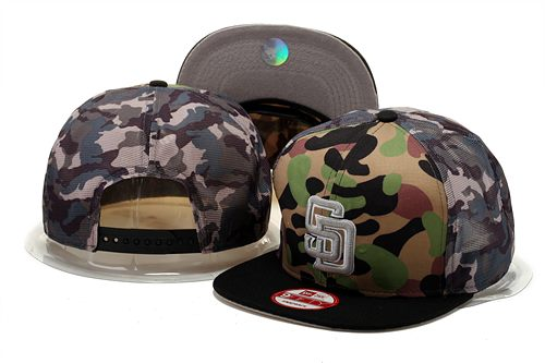MLB San Diego Padres Stitched Snapback Hats 002
