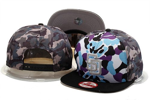 MLB San Diego Padres Stitched Snapback Hats 003