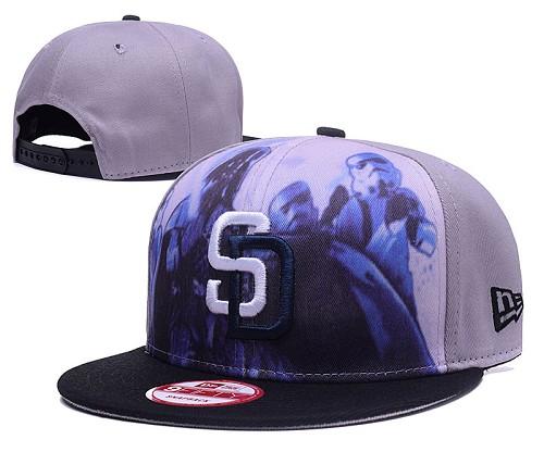 MLB San Diego Padres Stitched Snapback Hats 005
