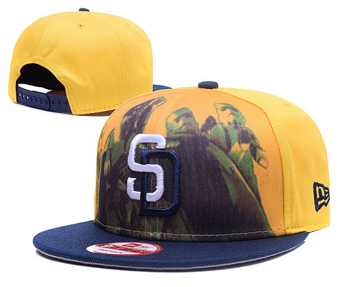 MLB San Diego Padres Stitched Snapback Hats 006