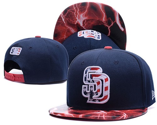 MLB San Diego Padres Stitched Snapback Hats 007